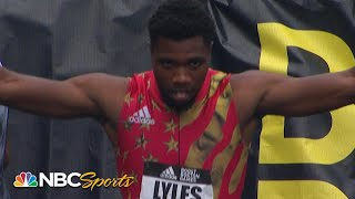 Did Noah Lyles Get a Gift in Boston Boost 150m? | NBC Sports