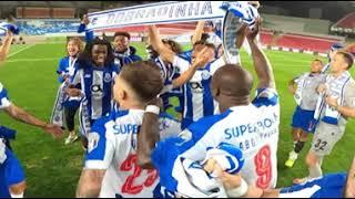 Final da Taça de Portugal: festejos no relvado