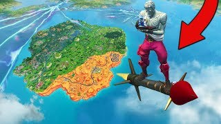 I Got OUT OF THE MAP With Guided Missiles In Fortnite Battle Royale!