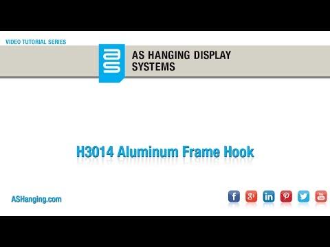 Aluminum Frame Hook