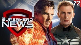 Superhero News #72: Doctor Strange to appear in Avengers: Infinity War