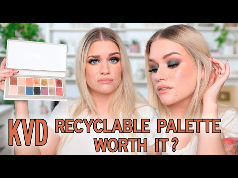FULLY RECYCLABLE EYESHADOW PALETTE...HIT OR MISS? | Samantha Ravndahl