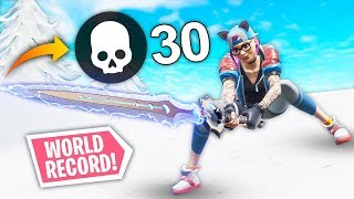 *WORLD RECORD* 30 KILLS WITH INFINITY BLADE! | Fortnite Best Moments #94 (Funny Fails & WTF Moments)