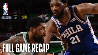 CELTICS vs 76ERS | Boston & Philadelphia Go Down To The Wire | March 20, 2019
