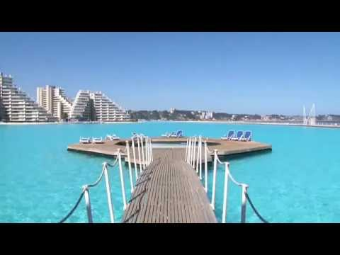 The world largest san alfonso del mar resort swimming pool - The biggest swimming pool in chile ...