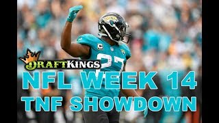 Week 14 NFL Thursday Night Football DraftKings Showdown Picks Jaguars-Titans - Awesemo.com