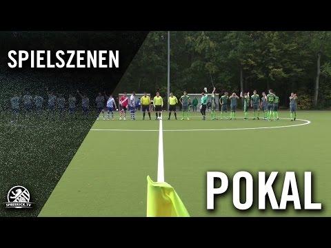 SC Gatow - SP. Vg. Blau-Weiss 90 Berlin (2. Runde, Berliner Pokal der 1. Herren 2016/2017) - Spielszenen   SPREEKICK.TV