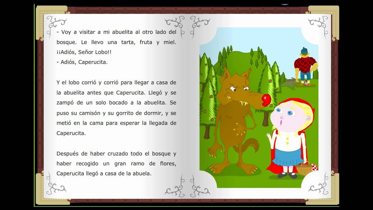 Caperucita roja, Cuentos clásicos infantiles en español