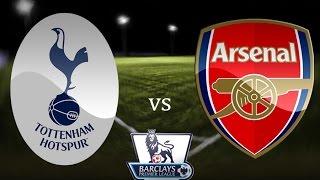 Tottenham Hotspur v Arsenal 2 - 1 Highlights HD - 07/02/2015