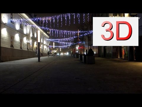 4K Video UHD, 3D:XMAS Decorations/ Lights in Europe