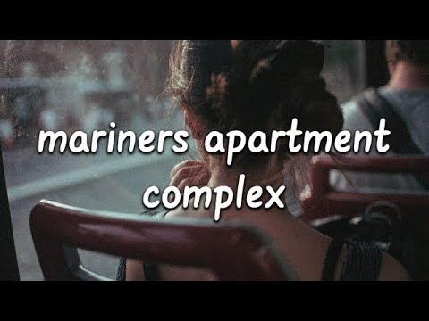 Lana Del Rey - Mariners Apartment Complex (Lyrics)