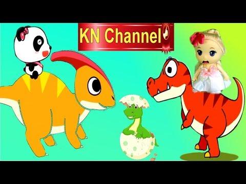TRÒ CHƠI KN Channel BÚP BÊ LẠC VÀO THỜI TIỀN SỬ KHỦNG LONG TREX tập 1