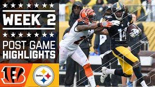 Bengals vs. Steelers | NFL Week 2 Game Highlights