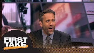 Max Kellerman gets hyped: 'Damn right' I believe in Eli Manning! | First Take | ESPN