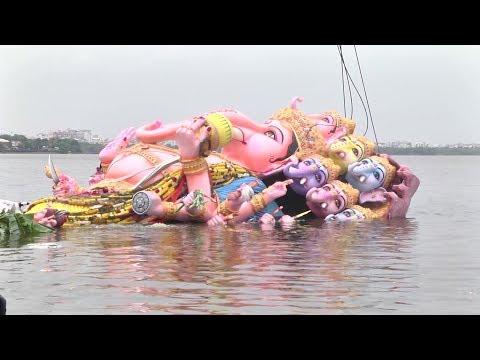 Khairatabad Ganesh Immersion Exclusive Visuals