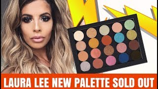 LAURA LEE NEW MAKEUP PALETTE SOLD OUT AND NO ONE KNEW ABOUT IT