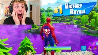 SPIDERMAN SKIN IN FORTNITE!!