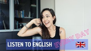 How to practise listening in English every day