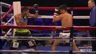 RYAN GARCIA VS CESAR VALENZUELA 3RD ROUND STOPPAGE
