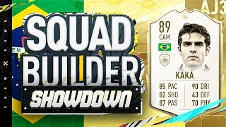 Fifa 20 Squad Builder Showdown!!! 89 RATED KAKA!!! Middle Kaka SBSD vs La5ty