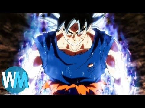 Top 10 Awesome Dragon Ball Power-Up Scenes