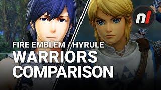 Zelda vs Fire Emblem | Fire Emblem Warriors / Hyrule Warriors Graphical Comparison