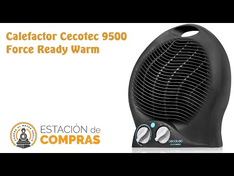 video Calefactor Cecotec 9500 Force Ready Warm