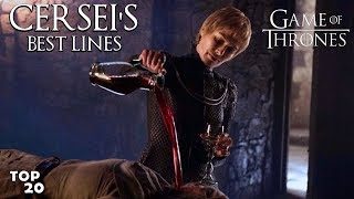 TOP 20 Best Cersei Lannister Lines | GoT