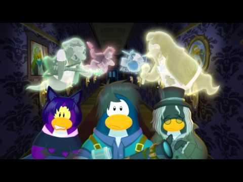 Fiesta de Halloween 2012 en el Club Penguin Disney