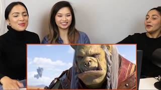"""Mezzy, Apryl and Stella react to WOW cinematic """"Safe Haven"""""""