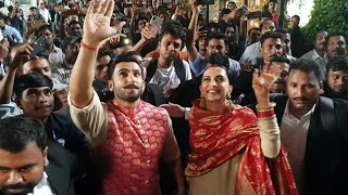 Deepika and Ranveer GRAND Welcome After Marriage..
