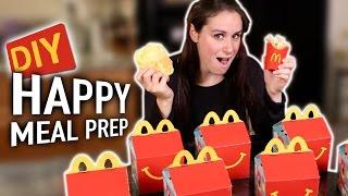 DIY Happy Meal Prep
