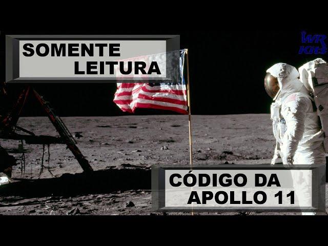 LIBERADO O CÓDIGO FONTE DA APOLLO 11! | Somente Leitura