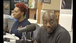 Malik Yoba's very interesting behavior - Dr. Rick Wallace