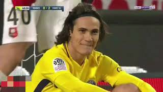 اهداف مباراة باريس سان جيرمان ورين 1-4     -
