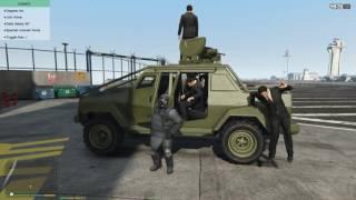 Tấn Công Khu Quân Sự Trong GTA V Cùng 500 AE Phần 1 - ThanhTrungGM