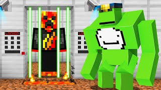 I Got Trapped in YouTuber Minecraft Prison...