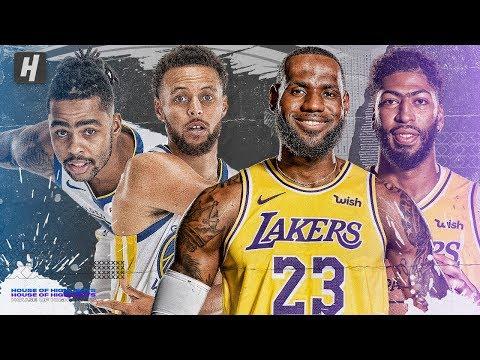 Warriors vs Lakers BEST Highlights & Plays from 2019 NBA Preseason!