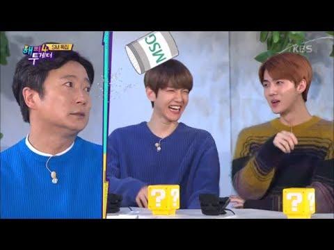 해피투게더4 Happy together Season 4 - 소문난 집돌이 백현과 영어로 술주정하는 보아?.20181108