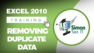 How to Remove Duplicate Data in Excel 2010 Spreadsheet