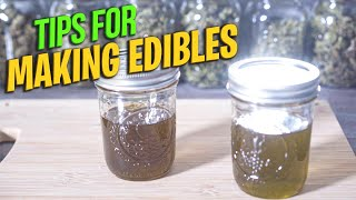 Tips for Making Edibles- The Beginner's Guide To Making Edibles