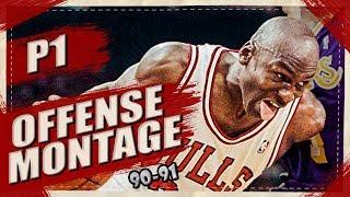 Michael Jordan UNSTOPPABLE Offense Highlights Montage 1990/1991 (Part 1) - LEGEND