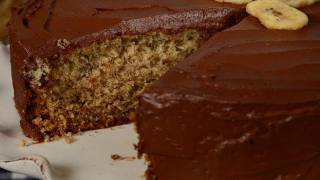 Banana Cake Recipe Demonstration - Joyofbaking.com