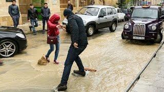 За сутки в Баку выпало полторы месячных нормы осадков