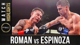 Roman vs Espinoza HIGHLIGHTS: May 15, 2021 | PBC on SHOWTIME
