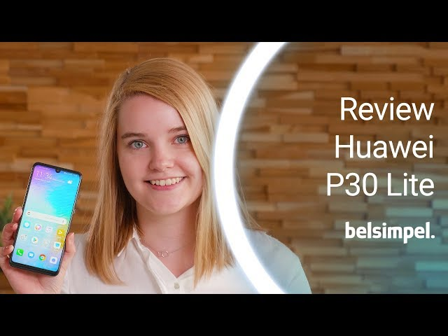 Belsimpel-productvideo voor de Huawei P30 Lite 128GB White