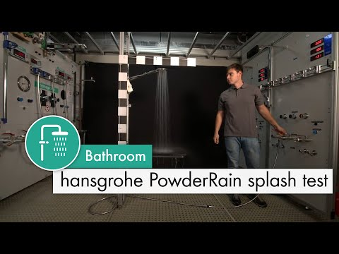 Hansgrohe Raindance S 240 1Jet P Overhead Shower with 390mm Shower Arm - PowderRain