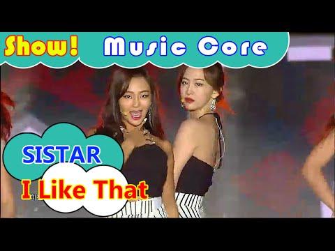 [HOT] SISTAR - l Like That, 씨스타 - 아이 라이크 댓 Show Music core 20160730