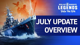 World of Warships: Legends releases major update