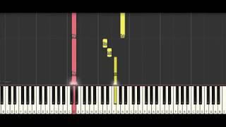 Antonio Vivaldi - Spring (the four seasons ) Piano Tutorial Synthesia
